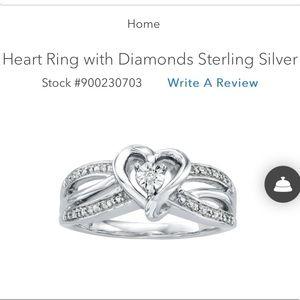 KAY Jewelers Heart Ring